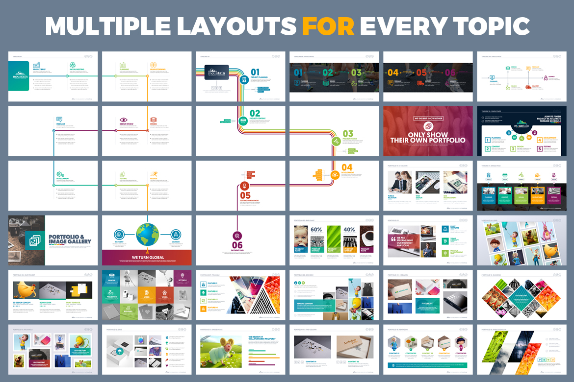 PowerPoint Presentation Template example image 8