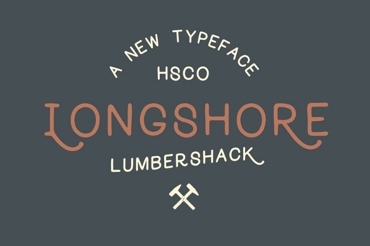 Longshore - Hand Drawn Font example image 1