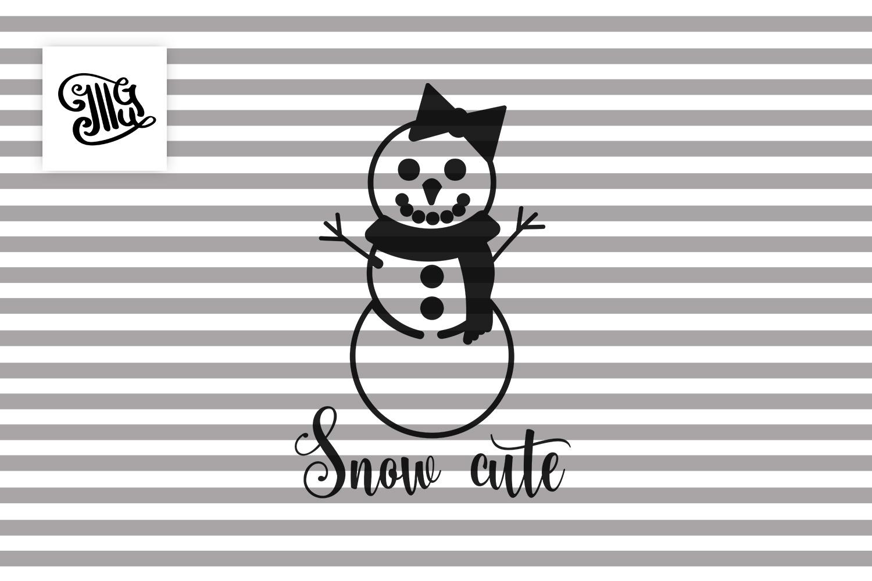 Snow Cute - Christmas kids example image 2