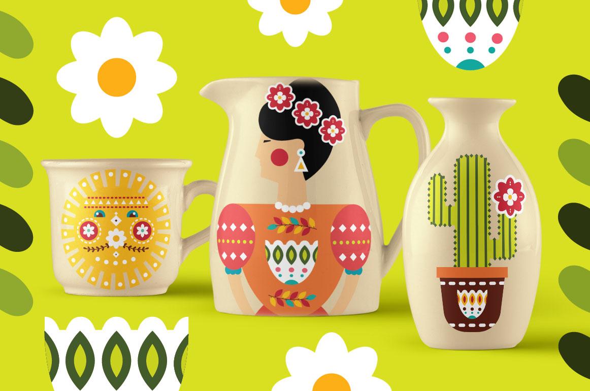 Frida - Mexican folk kit example image 8