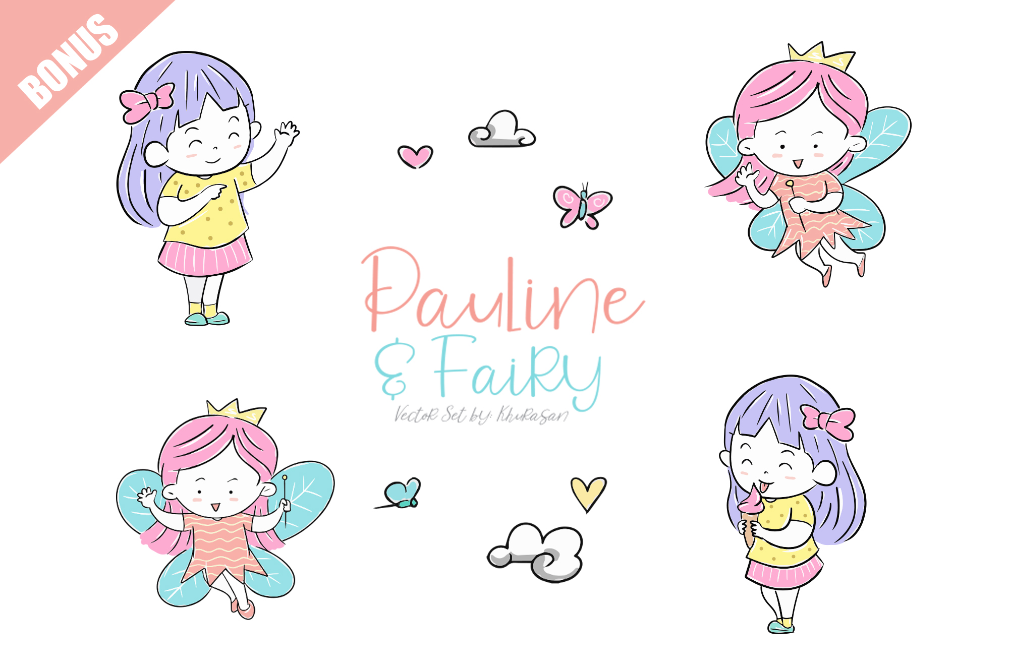 Pauline and Fairy Font example image 5
