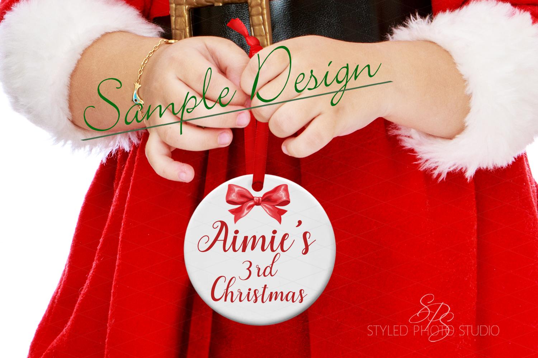 Big Christmas Mockup Bundle, Mug, Ornament, Pillows and More example image 9