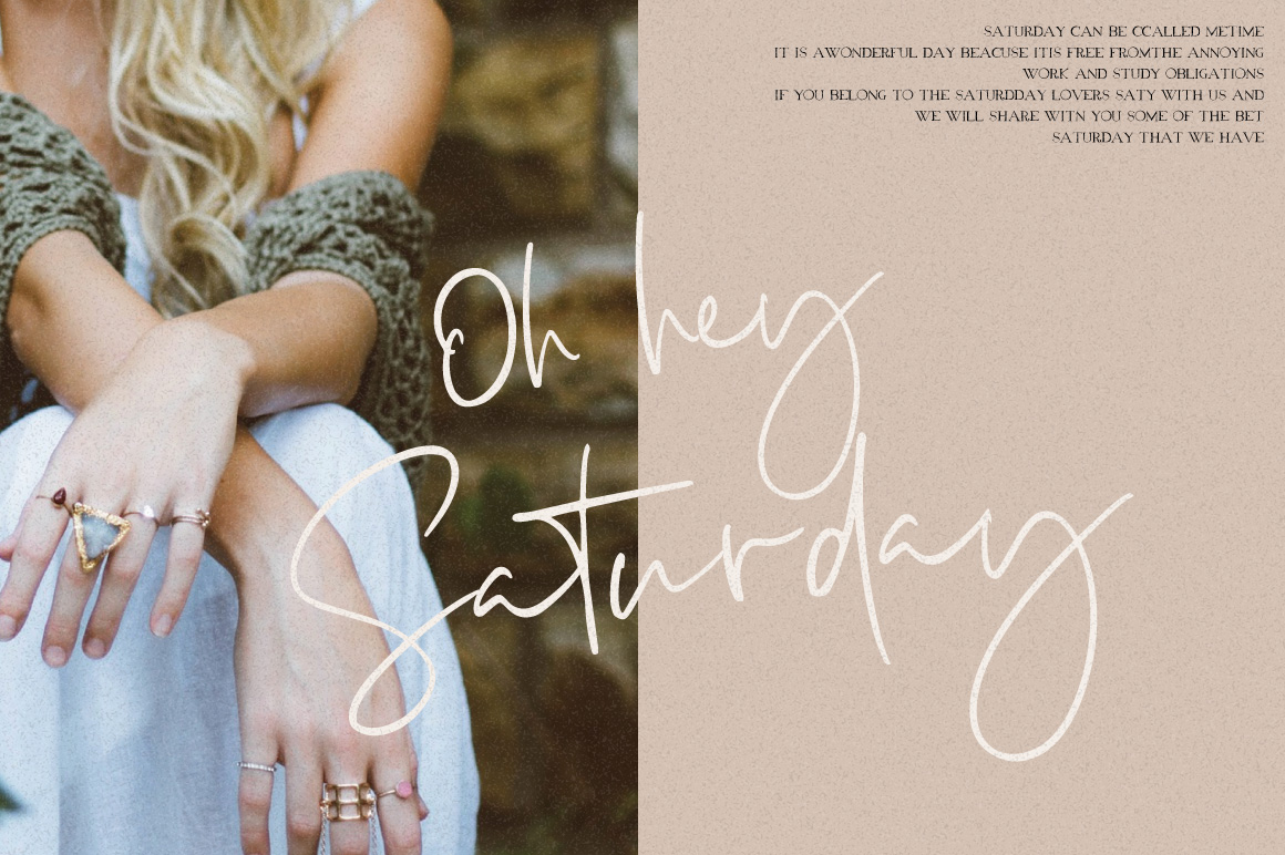 Luscious Quinn Font Duo example image 9