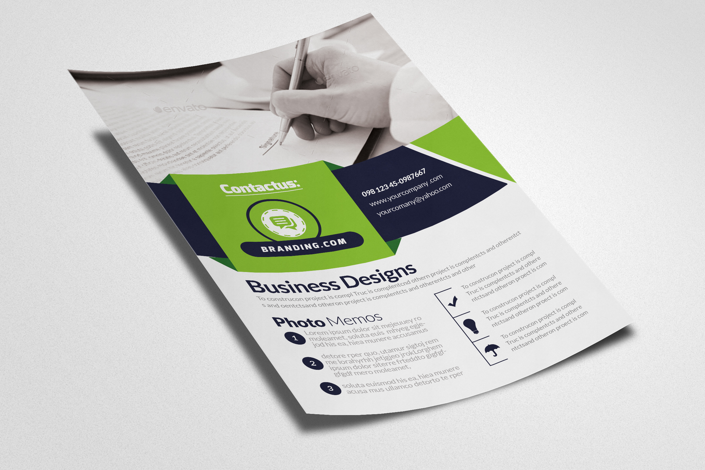 Business Accounting Firm Flyer example image 2