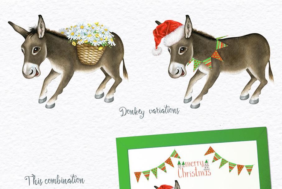 Watercolor Animals + BONUS example image 10