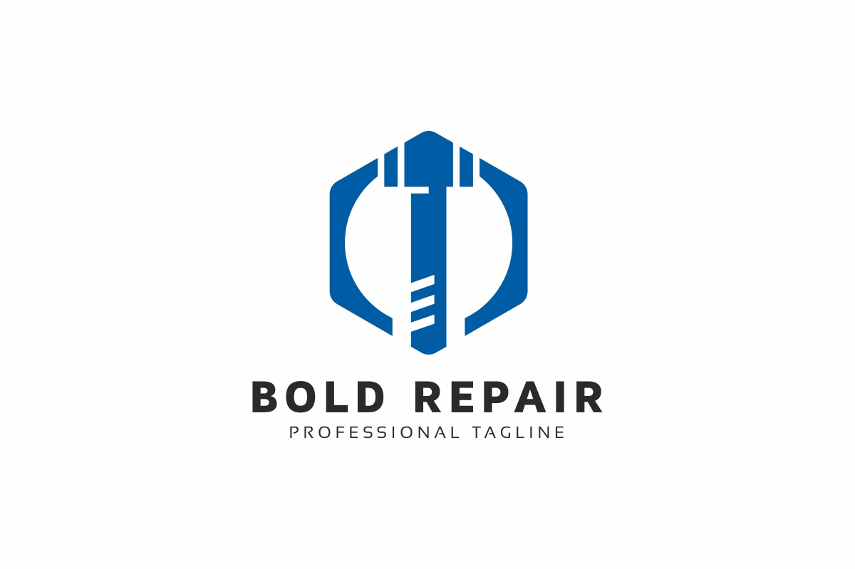 Screw Repair Logo example image 1