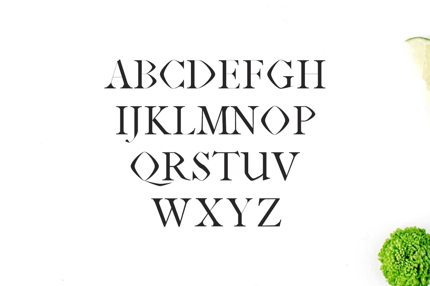Janecia Serif Typeface example image 3