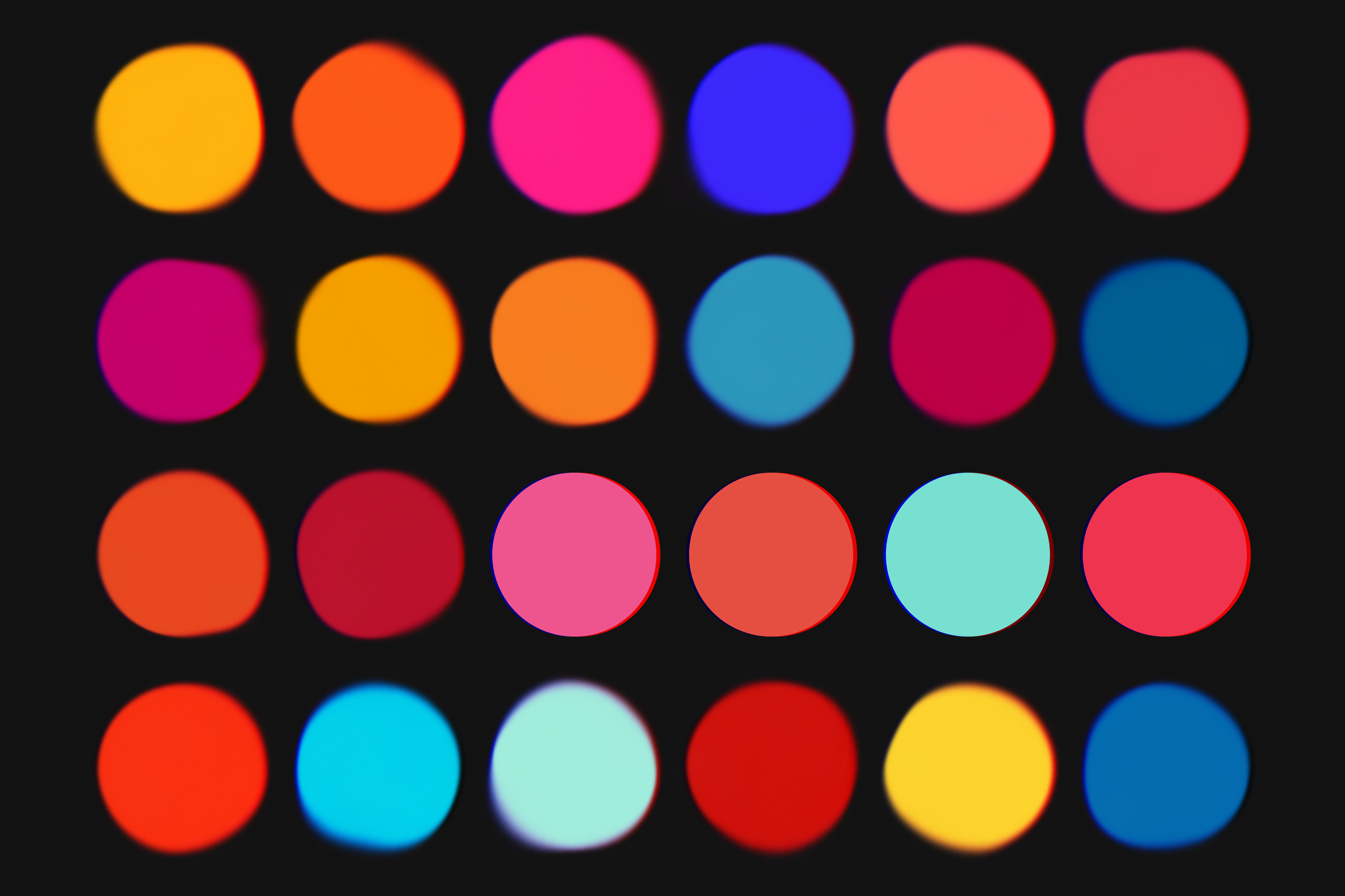 Vibrant - 8 Colors Schemes Pack example image 2