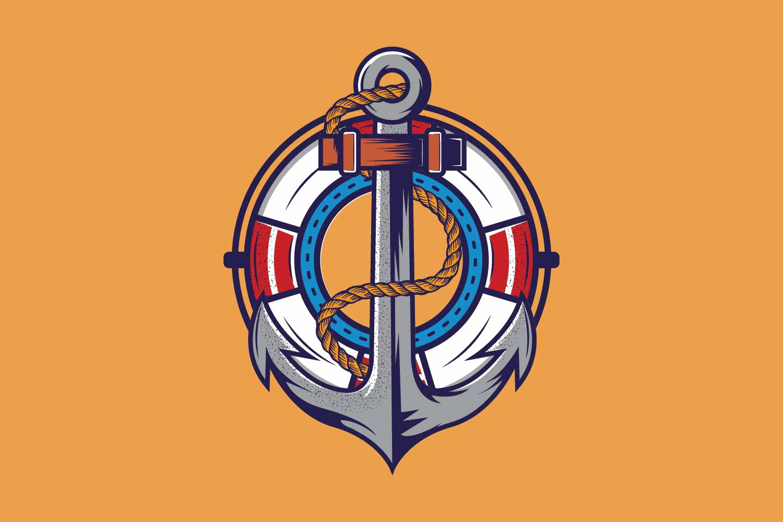 Anchor logo template example image 1