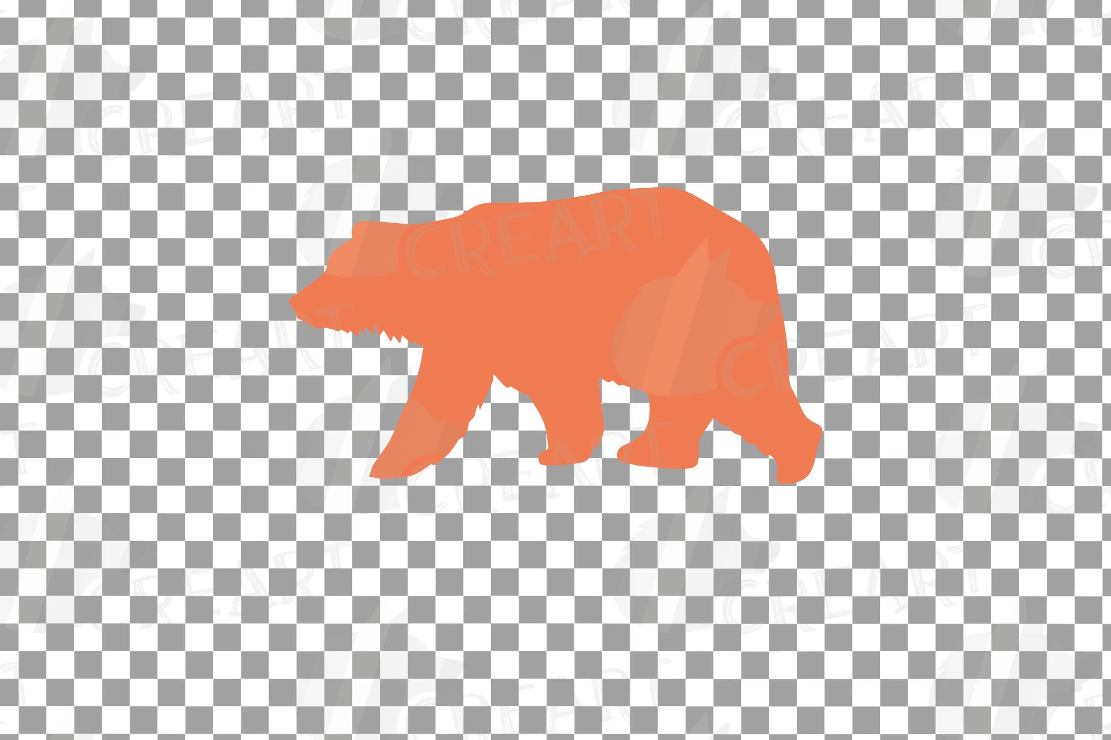 Baby and mama bear nursery clip art collection, bears print example image 8