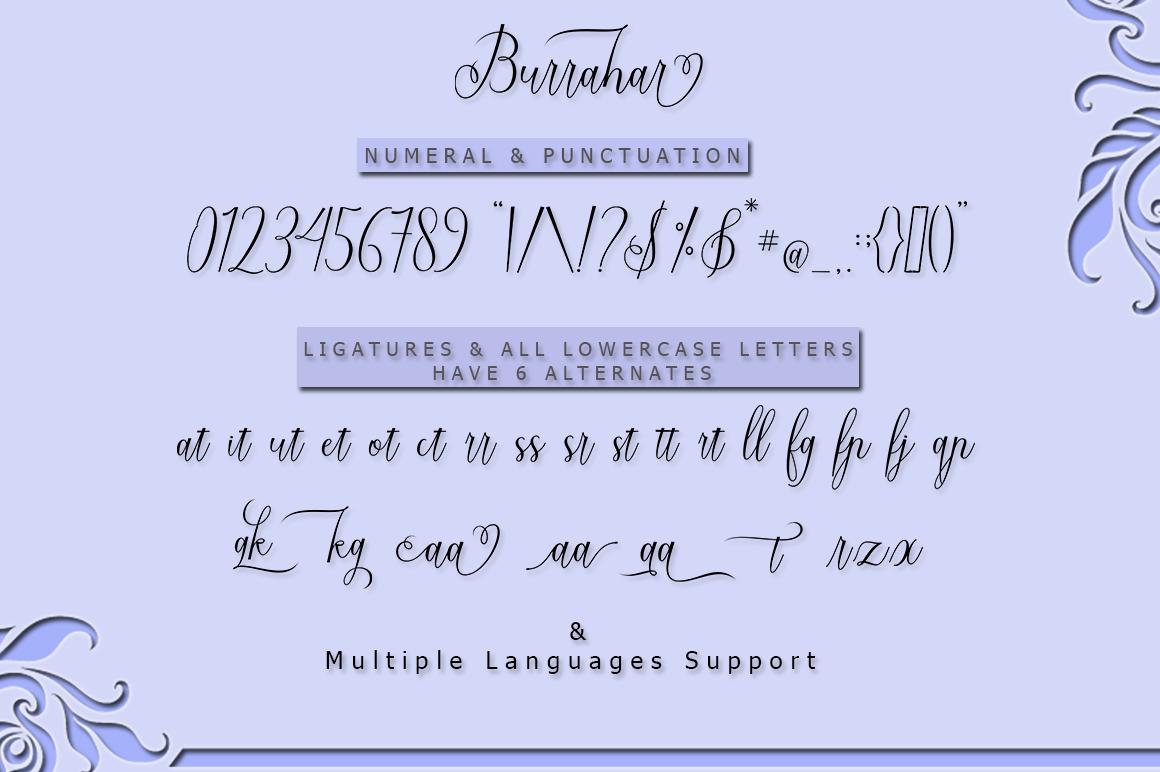 Burrahar Script example image 11