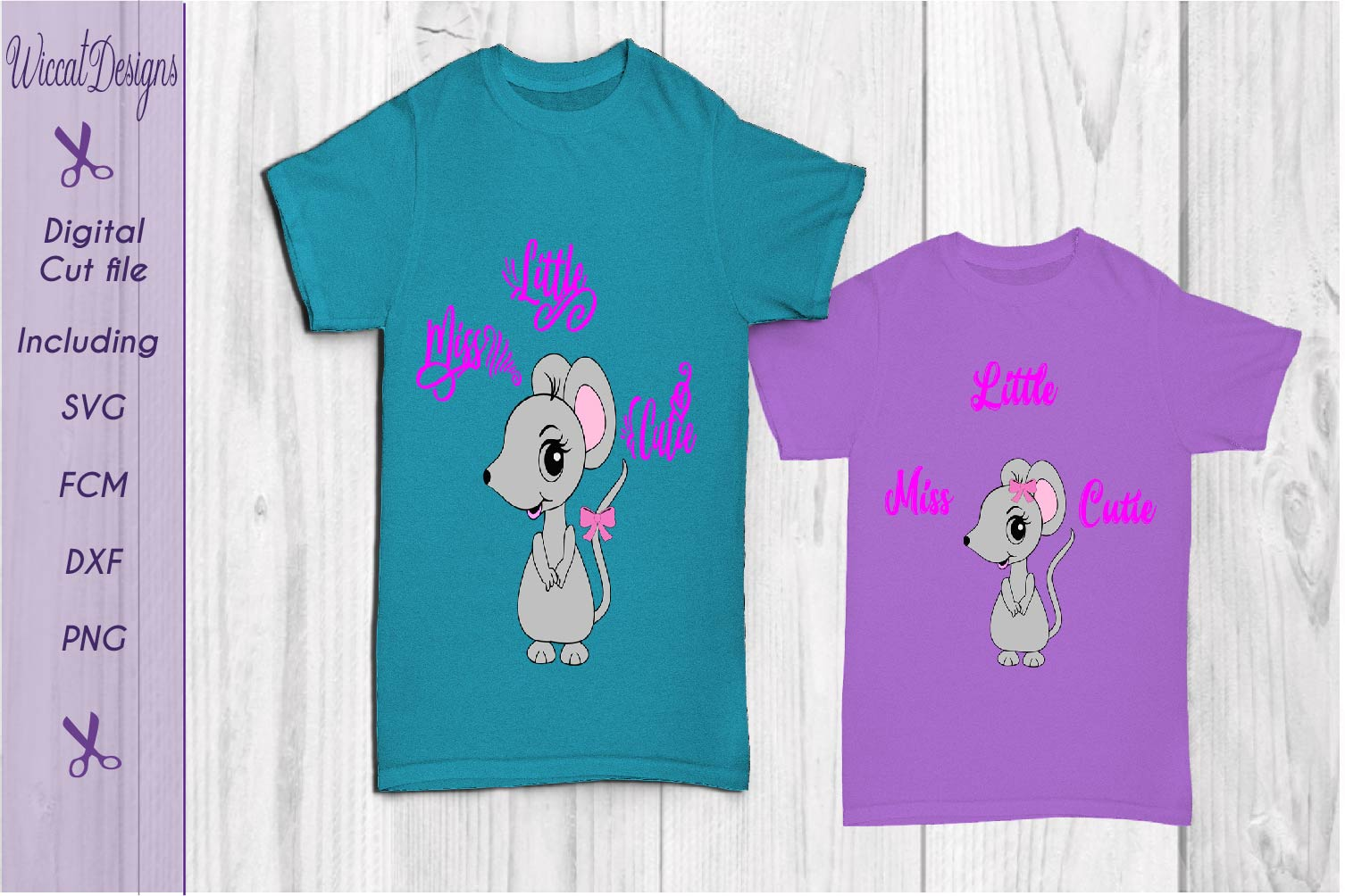 Mouse svg, Little miss cutie svg, quote svg, tshirt design svg example image 4