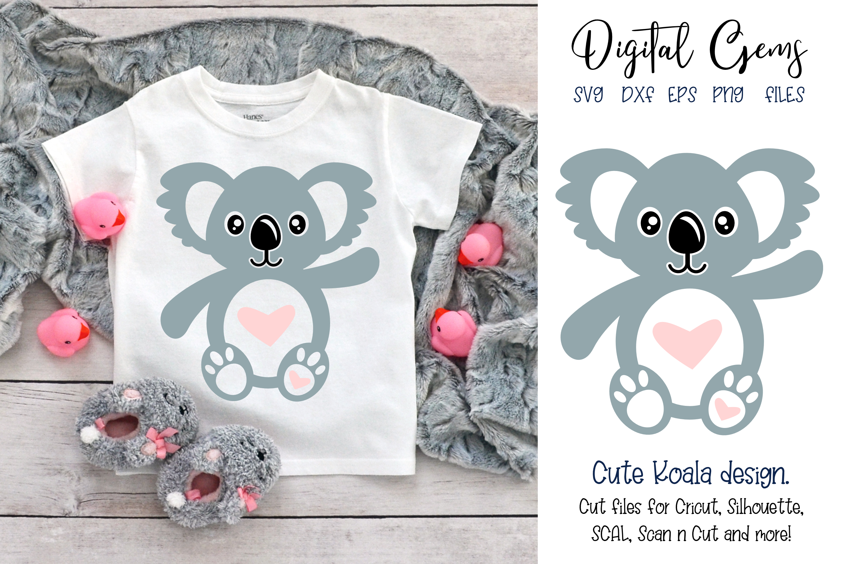 Koala SVG / PNG / EPS / DXF Files example image 1