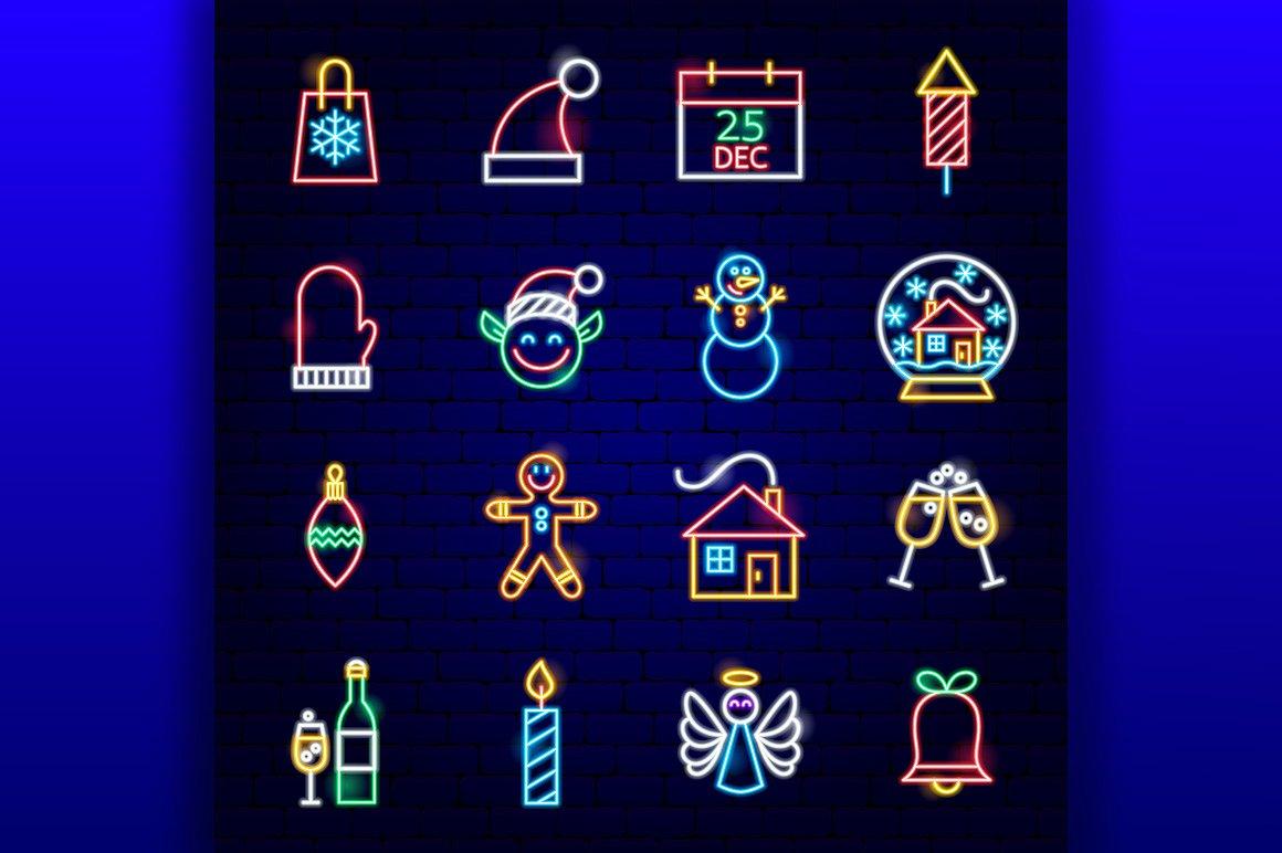 Christmas Neon example image 2