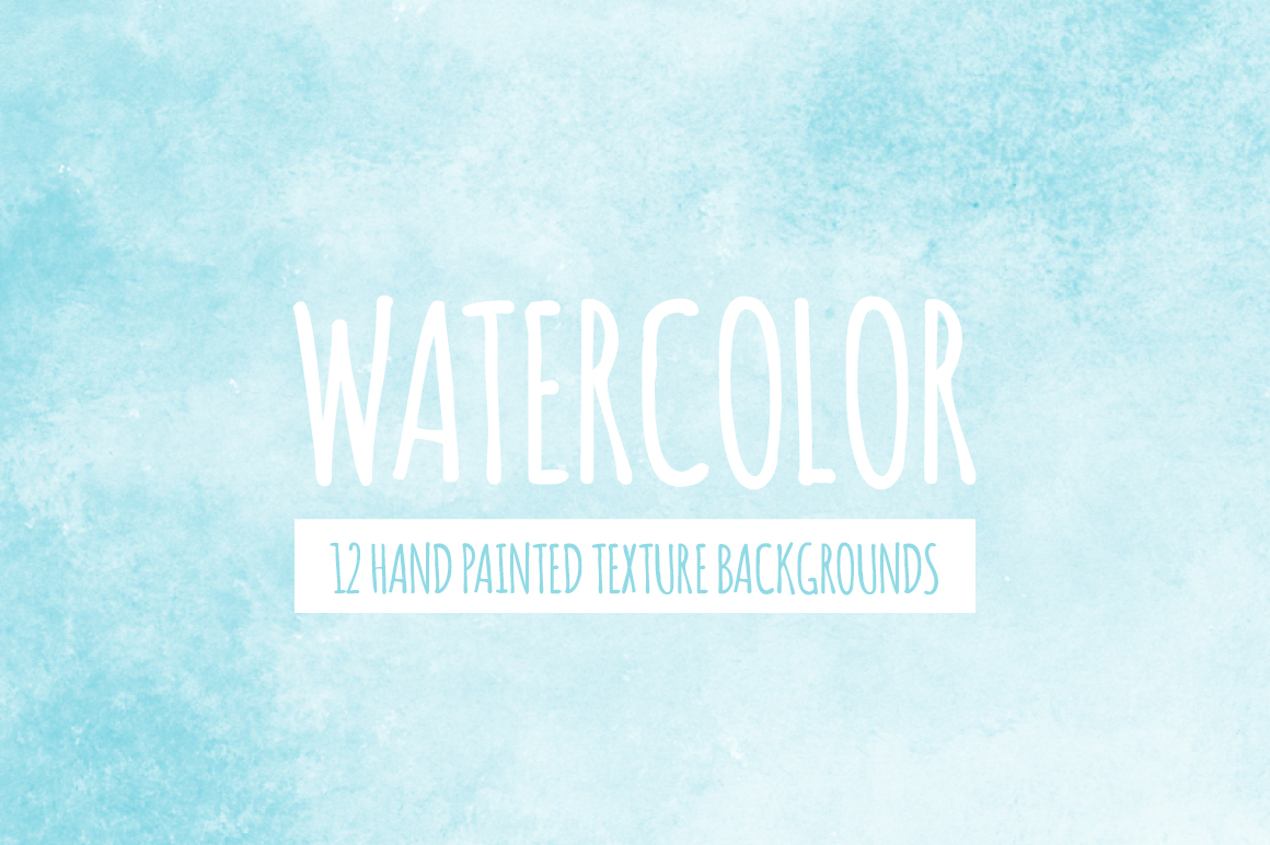 Soft Blue Watercolor Texture Backgrounds example image 1