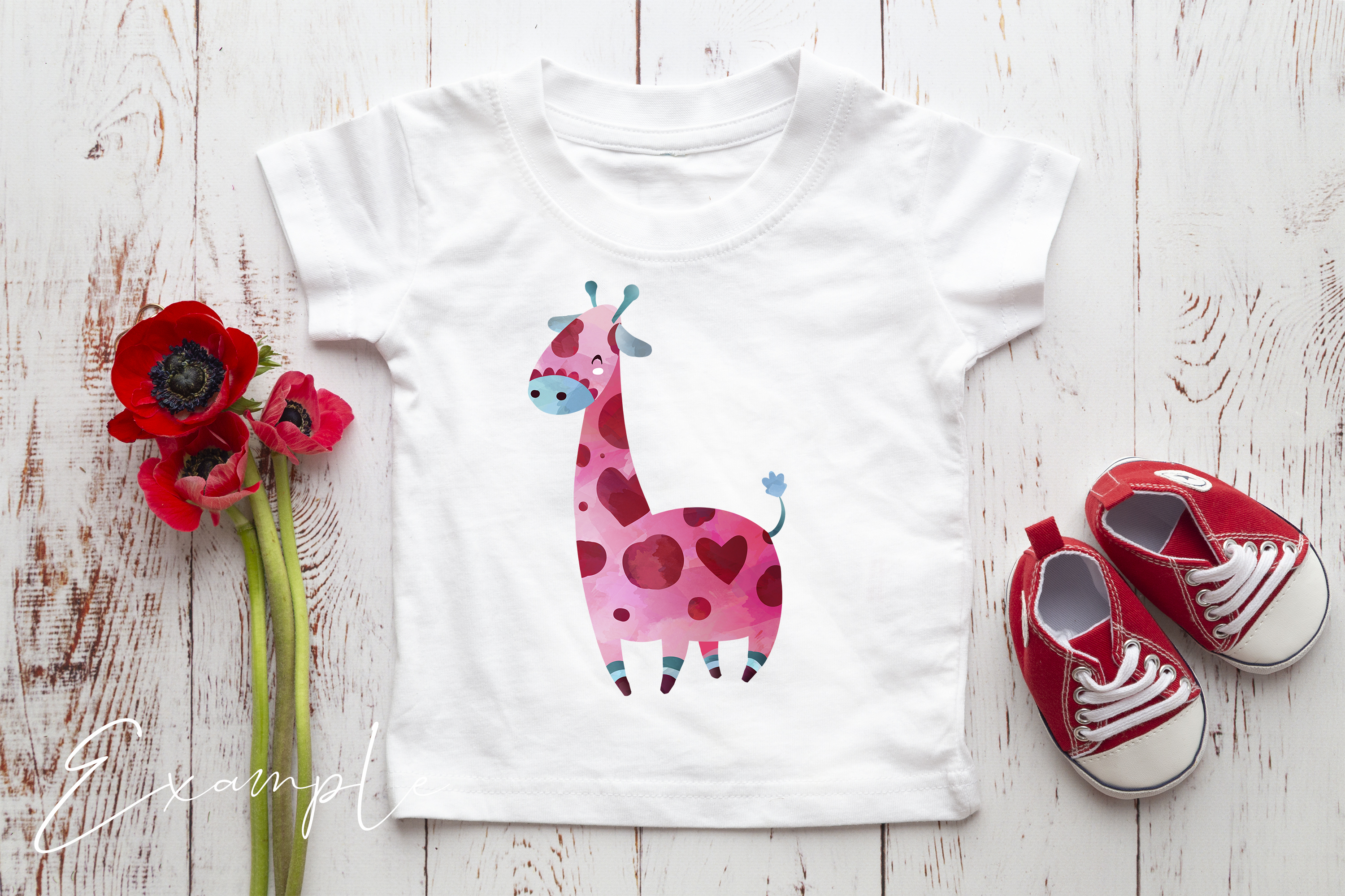 Onesie, Infant T-Shirt Mockup example image 2