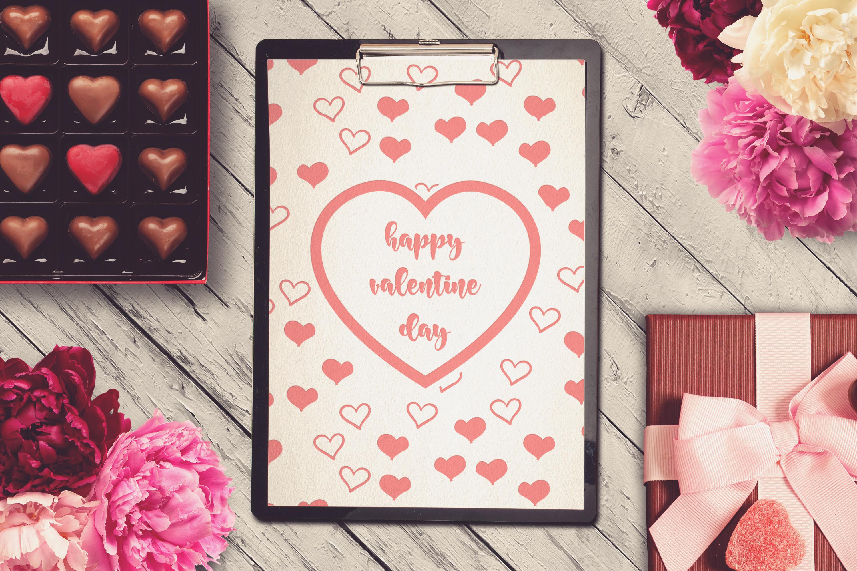 Valentine A4 Letter Mock-up #16 example image 1