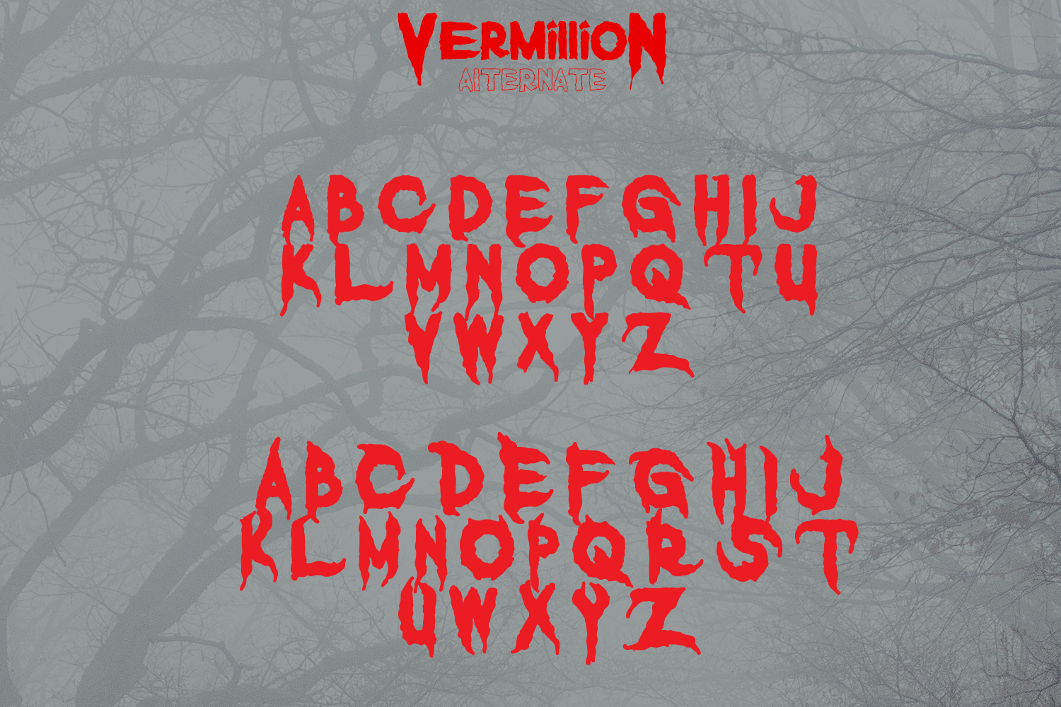 Vermillion Display Font example image 7