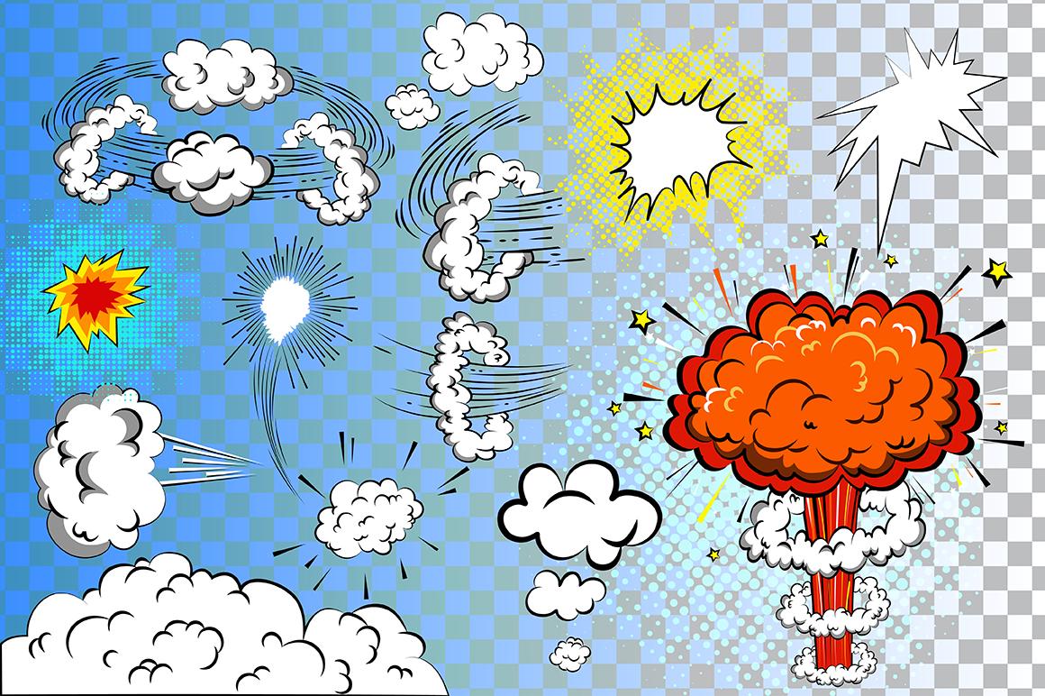 Comics pop art signs set_Vol.3 example image 2