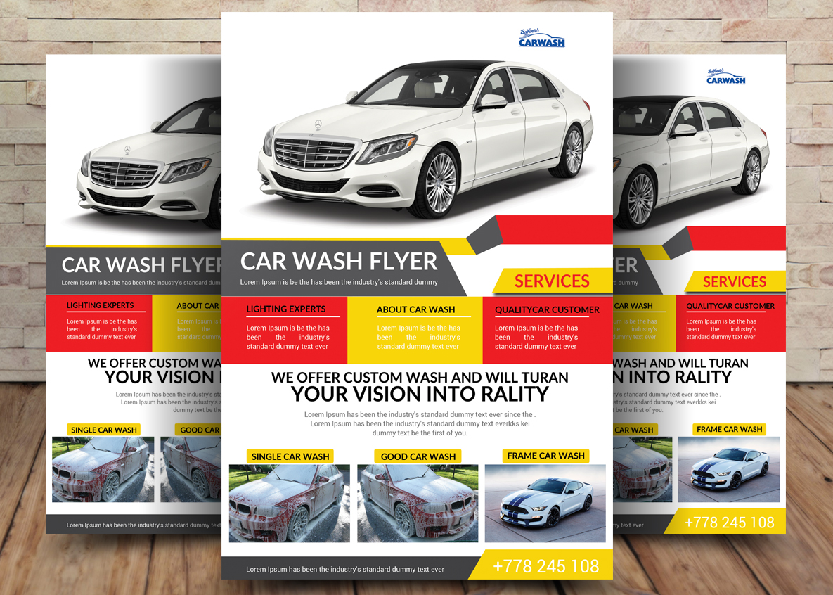 Car Bundle 7in1 Flyer example image 5