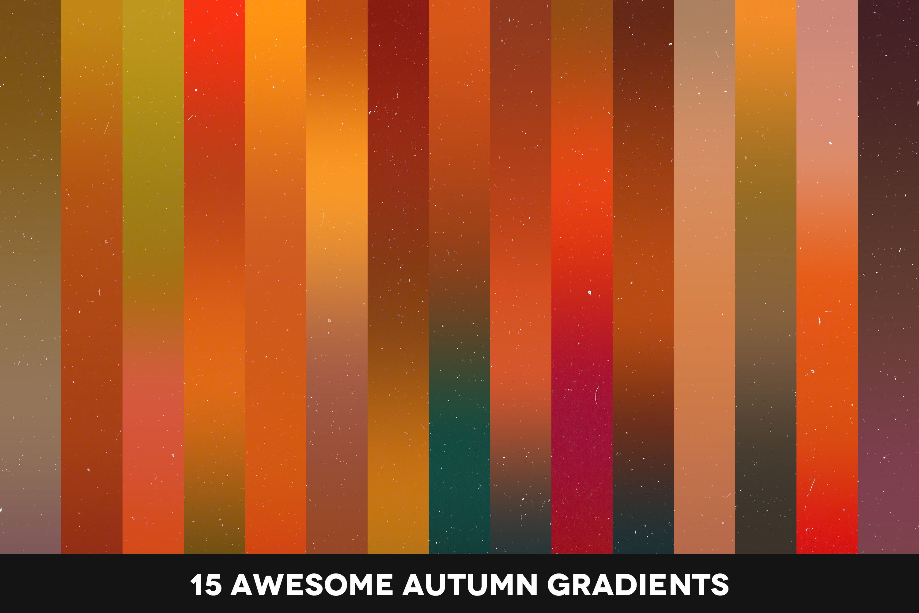 Autumn Forest - Atmospheric Photoshop Gradients Pack example image 2