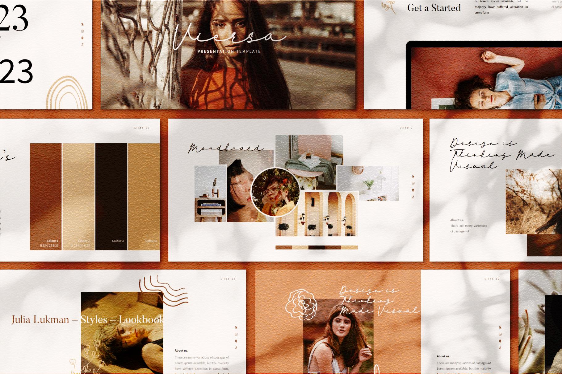 VIersa Creative Presentation Template example image 3