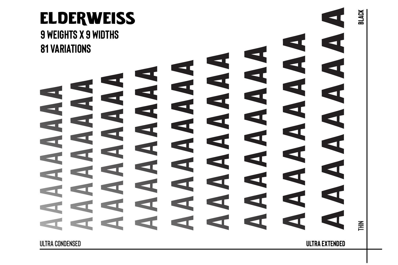 Elderweiss - An Experimental Sans Serif example image 8