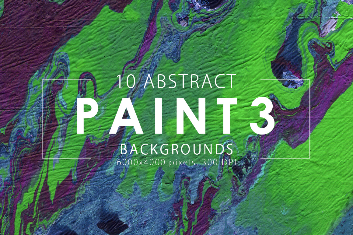 Abstract Paint Backgrounds Vol.3 example image 2