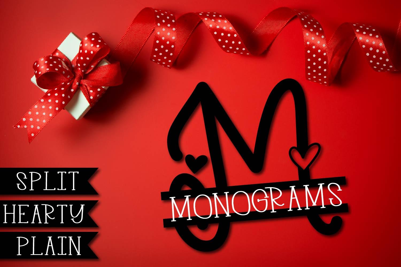 Big Monogram Bundle - 10 of my Best Selling Monogram Packs! example image 7