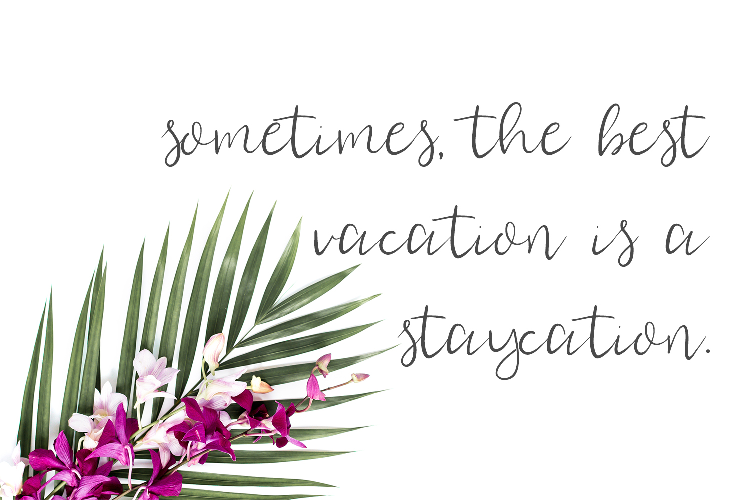 Staycation Script Font example image 5