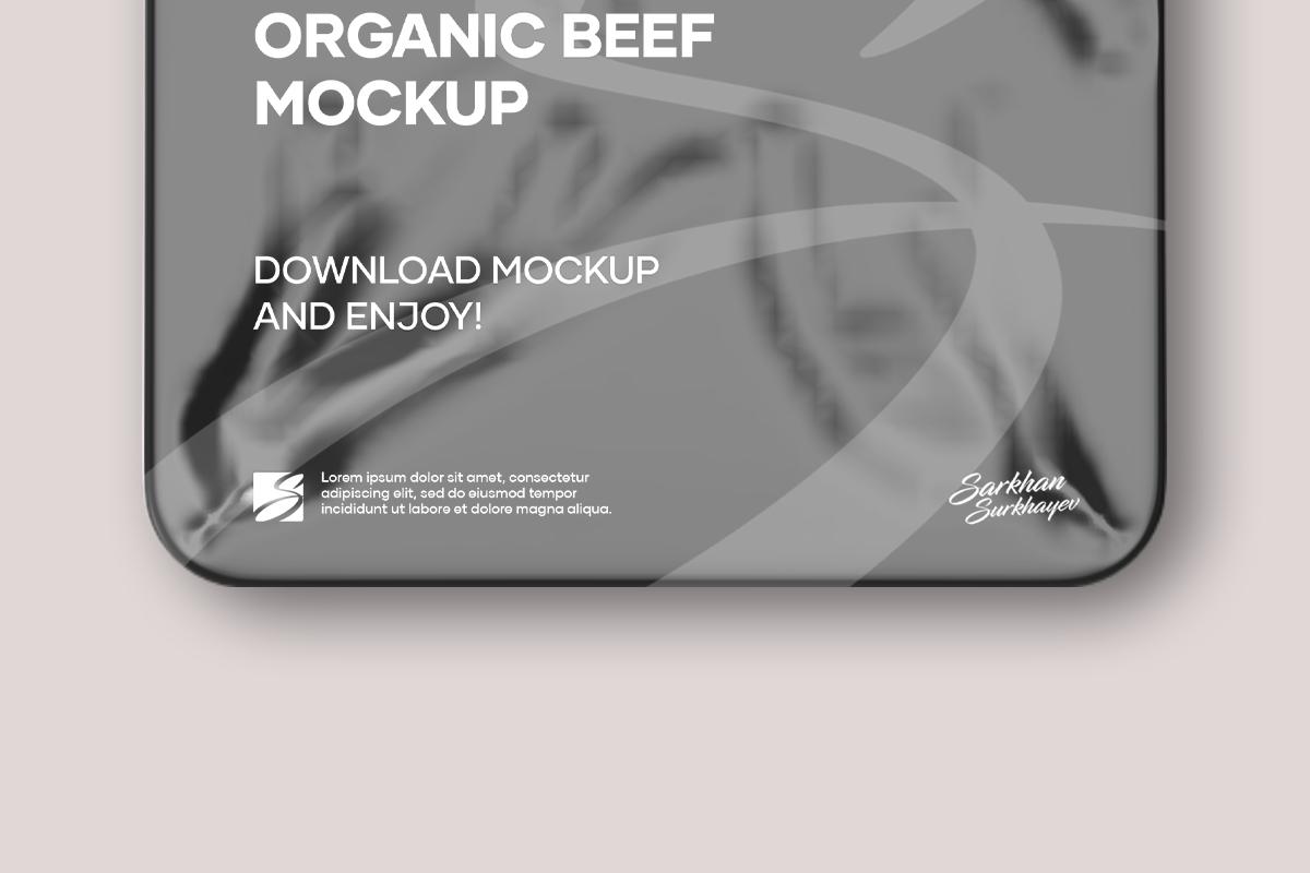 Organic Beef Mockup example image 2