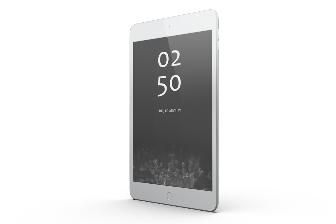 iPad Mini 4 Mock-up example image 6