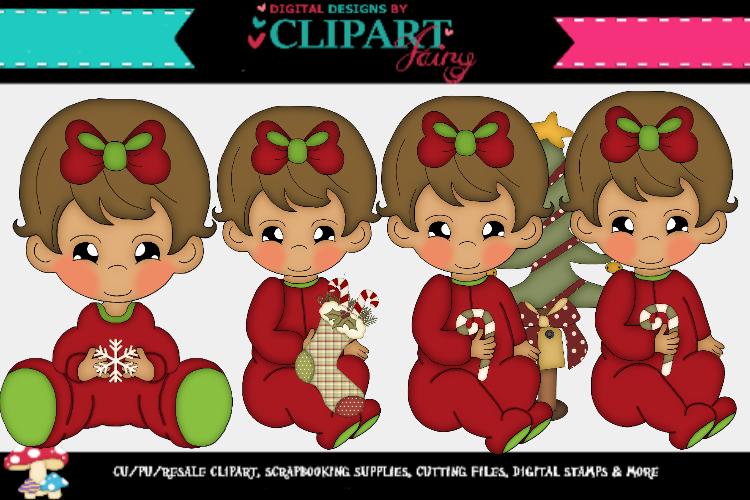 Baby Girl Christmas 4 example image 1