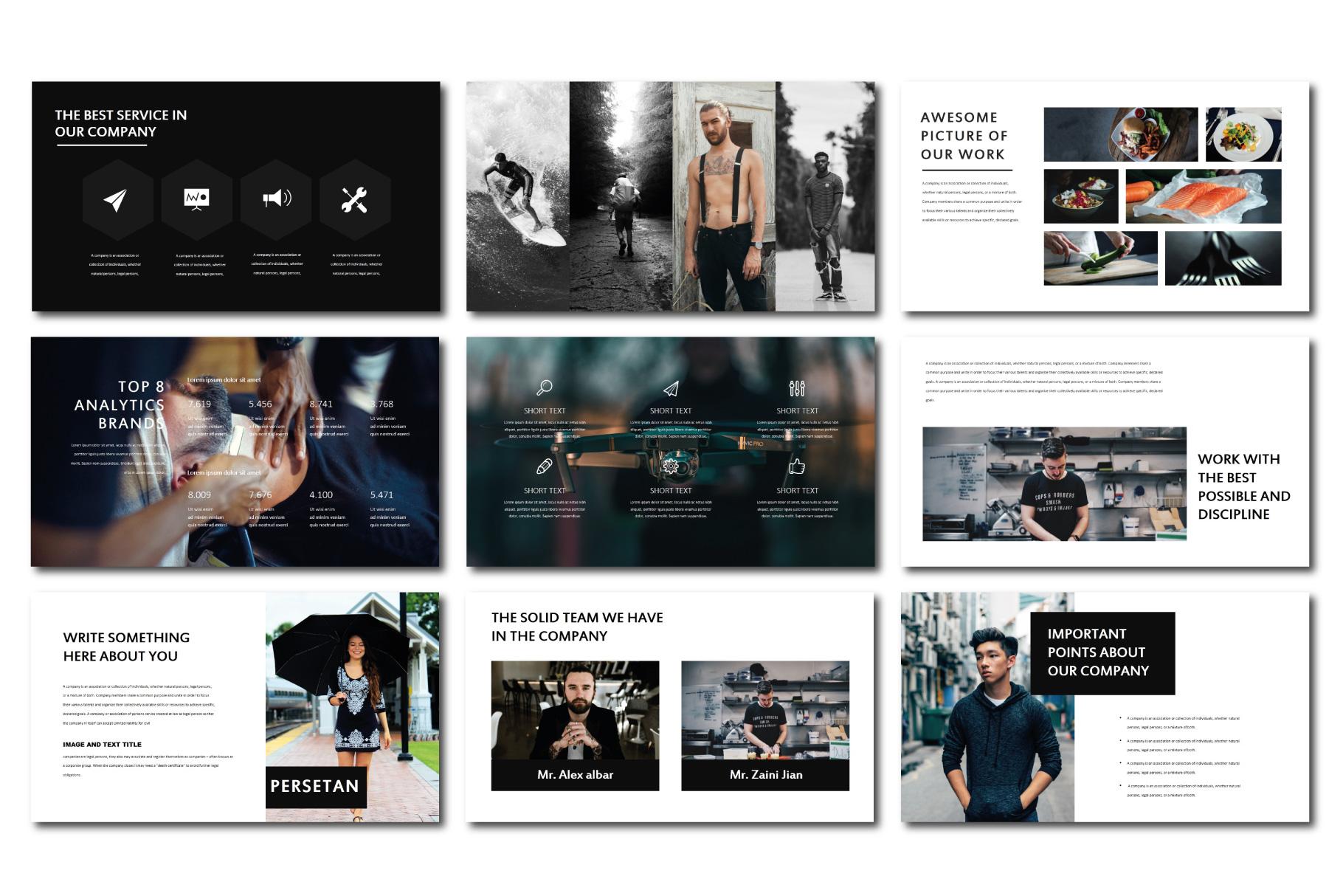 Persetan Multipurpose KeynoteTemplates example image 3