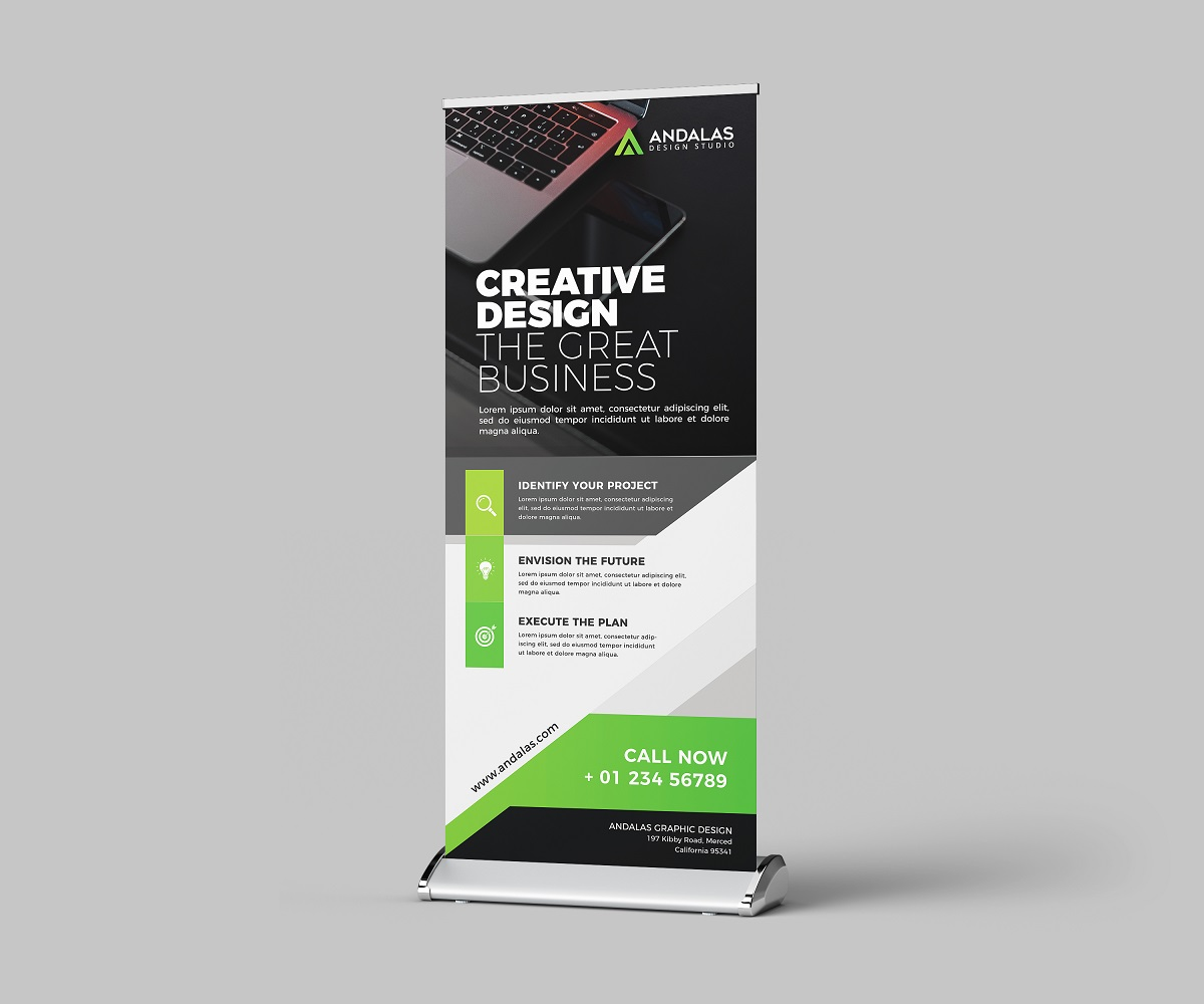 Roll Up Banner Template example image 3