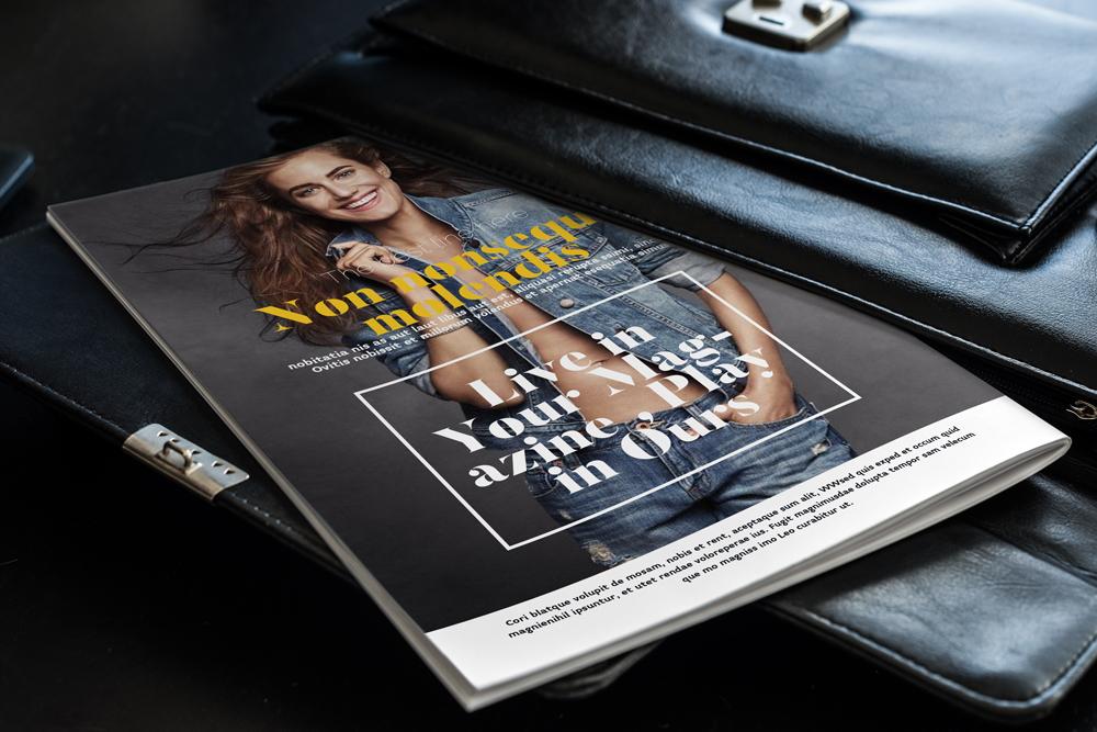 Fashion Magazine Layout Template example image 25