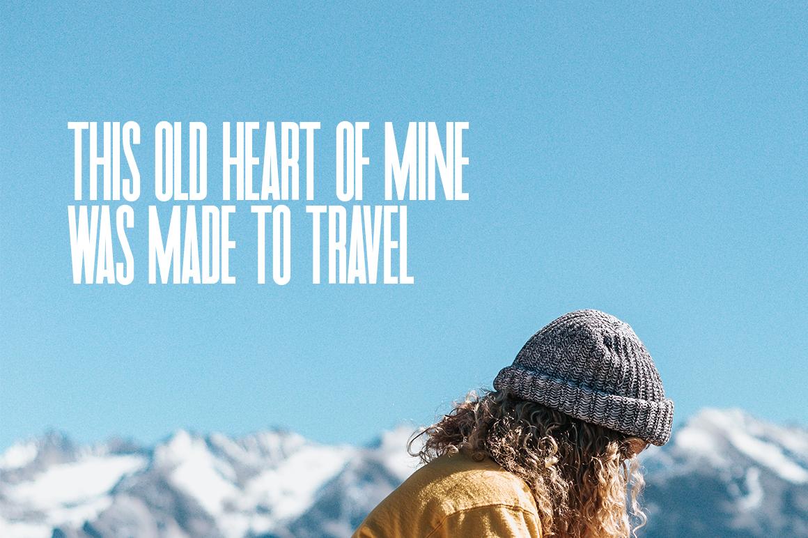 Travel Sans Font example image 3