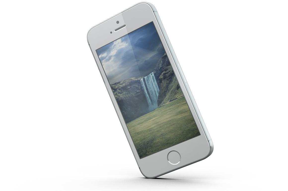 iPhone SE Mockup example image 12