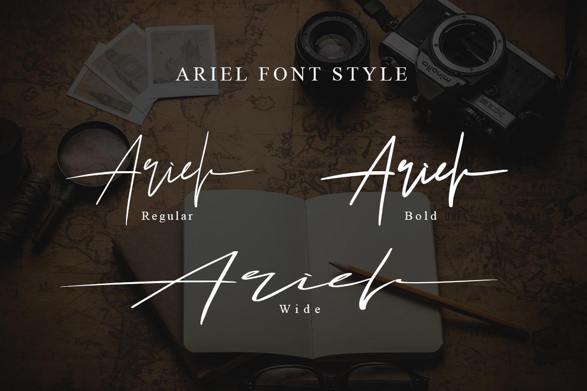 Ariel Signature example image 9