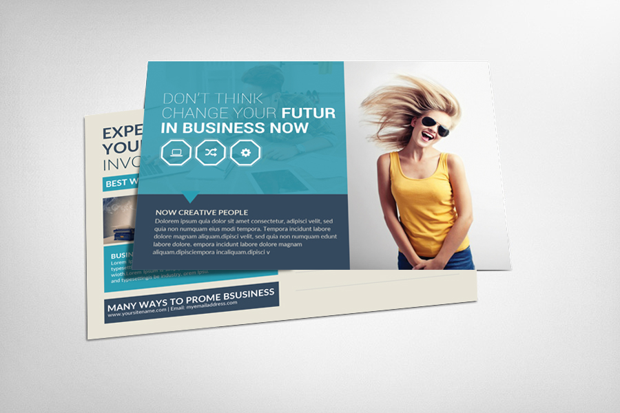 Business Postcard Design example image 1