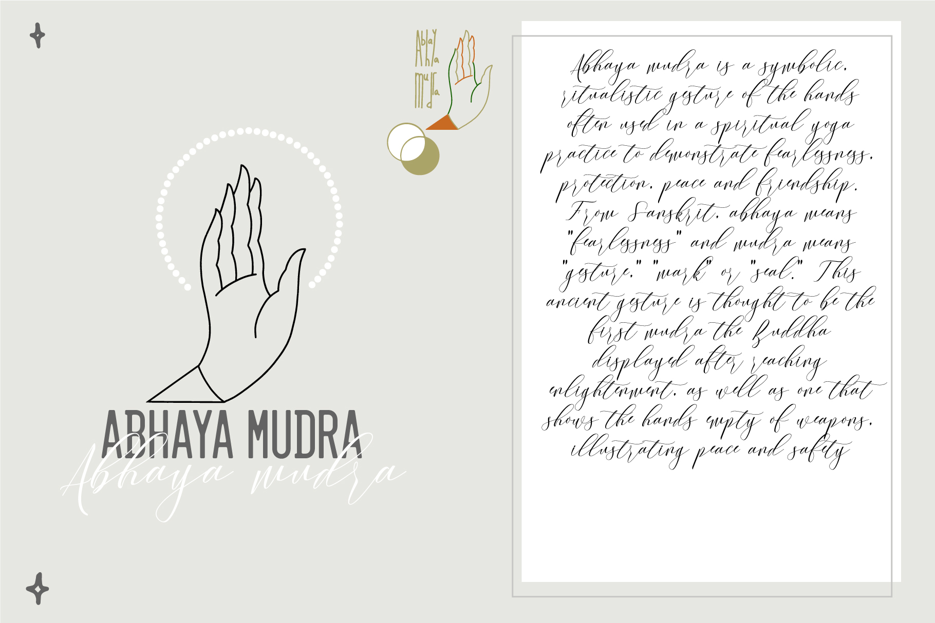 10 Mudras & Logo Pack. SVG/Ai/PNG example image 2