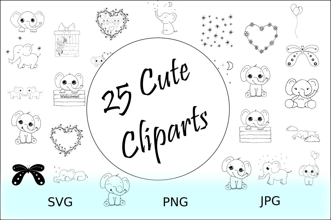 Doodles Cliparts Bundles example image 2