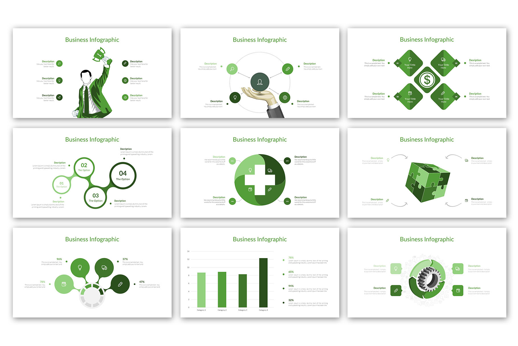 Modern Business Presentation Template example image 11