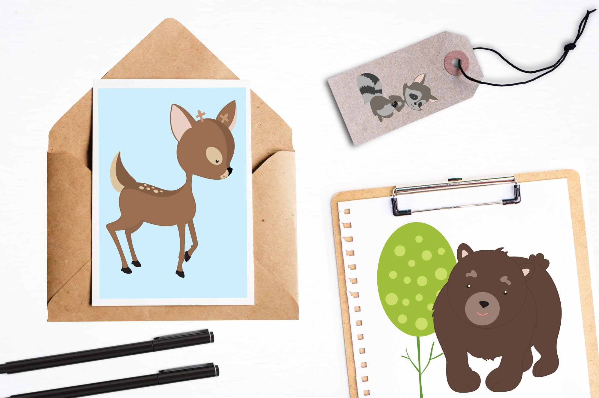 Secret Woodland graphics and illustrations example image 4