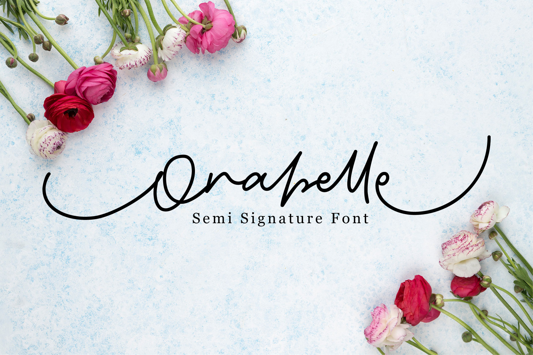 Orabelle Semi Signature Fonts example image 1