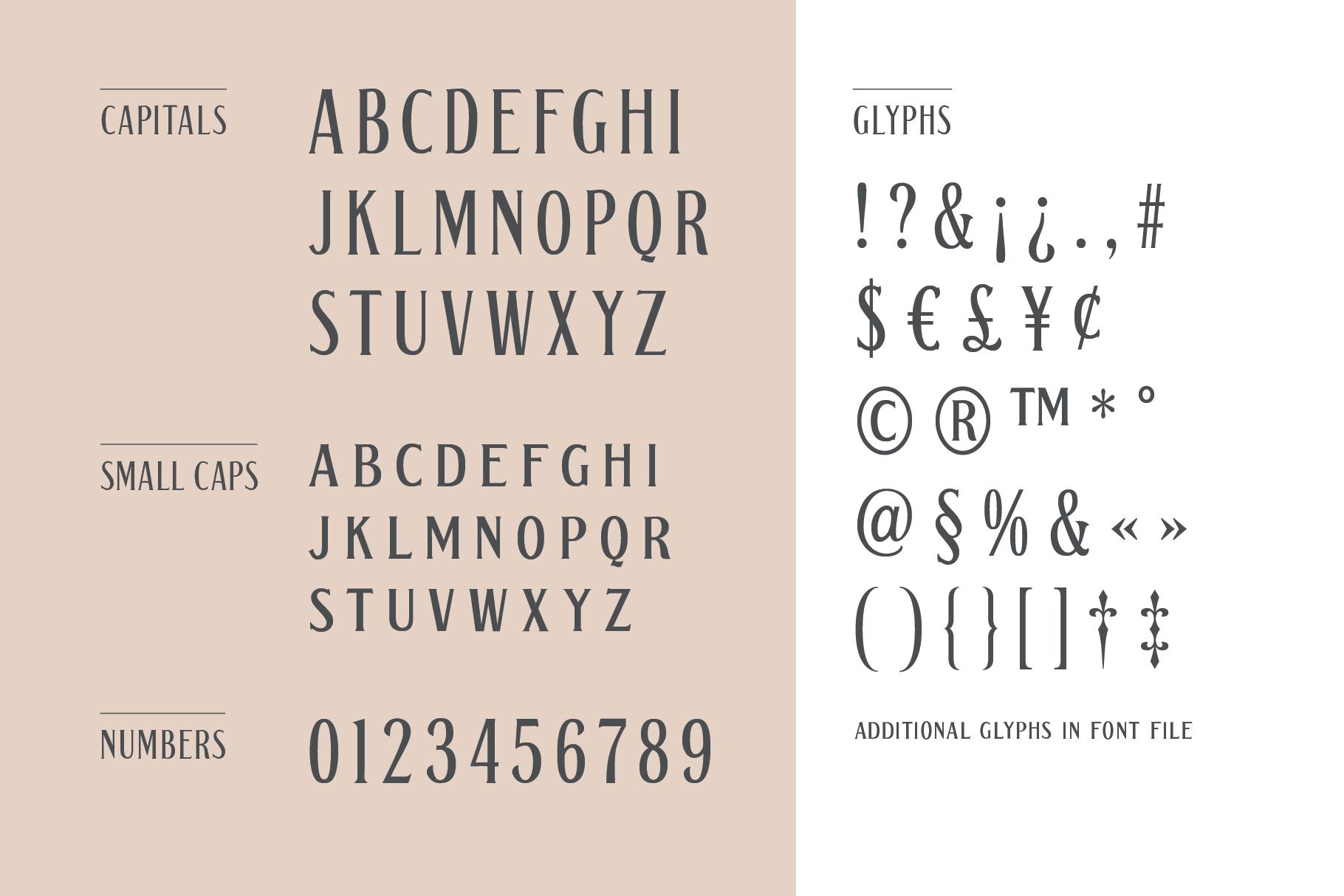 Gerhard - Vintage Display Font example image 3