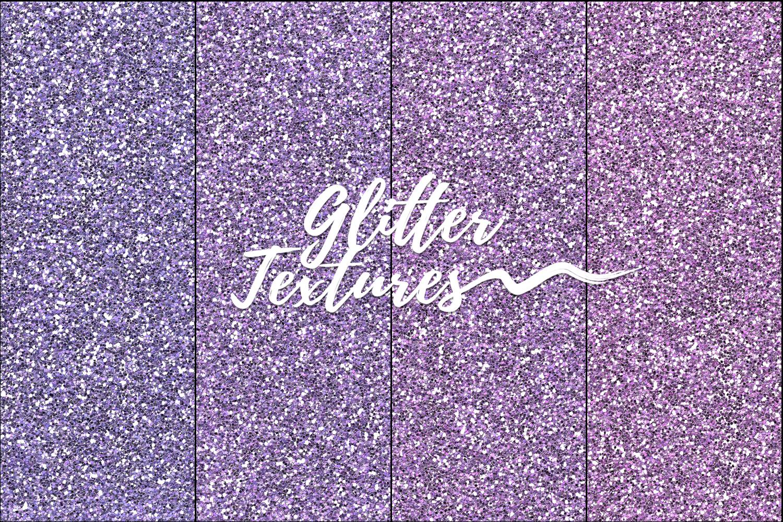 30 Glitter Shades of Rainbow Photoshop Patterns,Backgrounds example image 7