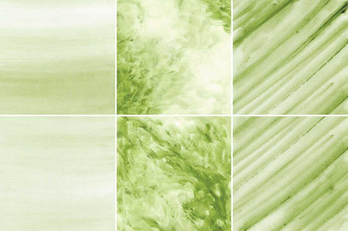 Green Watercolor Texture Backgrounds example image 3