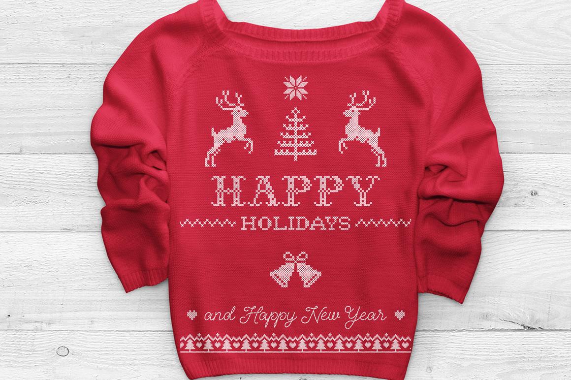 Sweater Font + BONUS example image 8