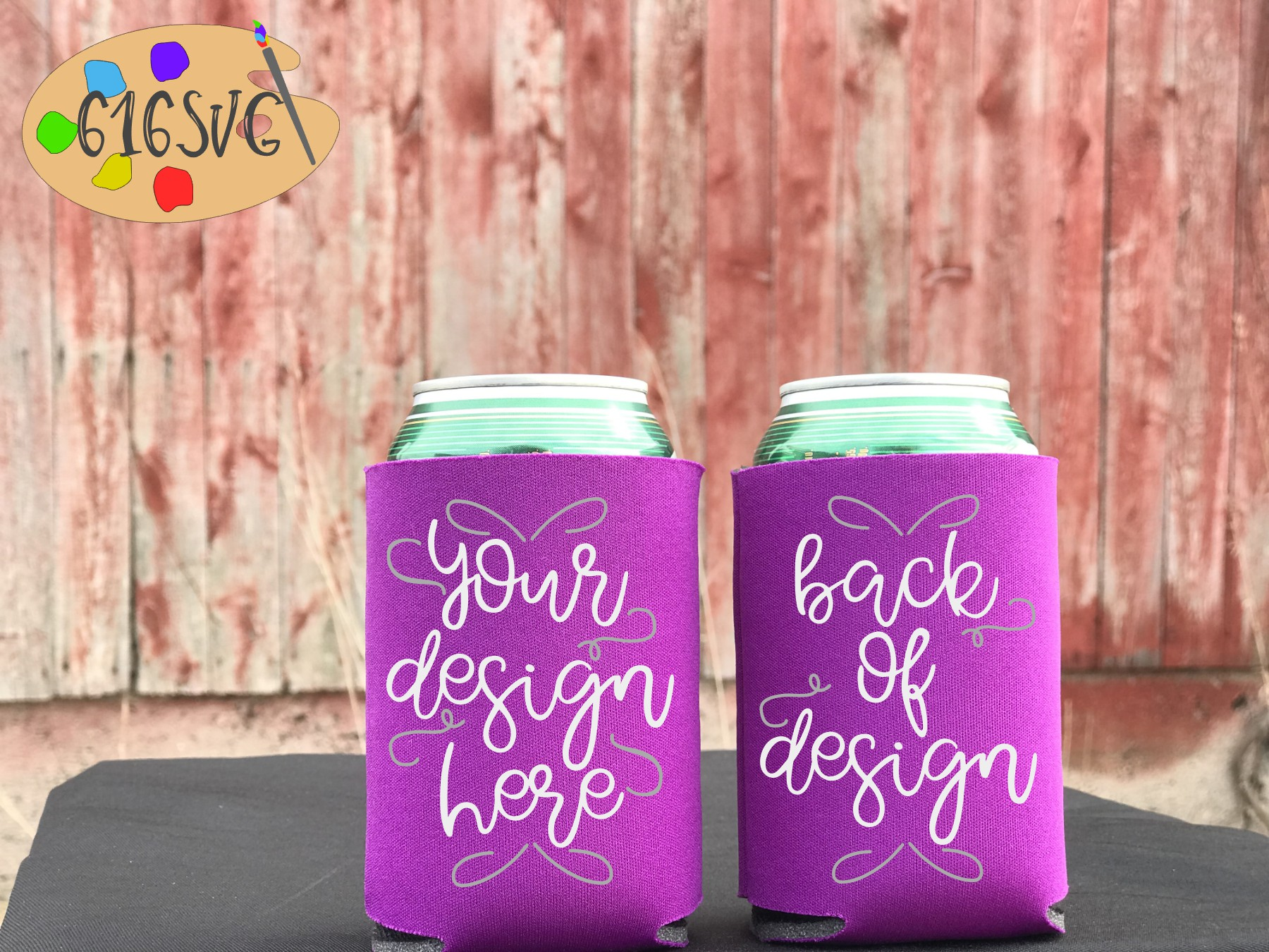 Can Cooler Mockup Bundle 33 Color Choices example image 26